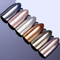 Mirror Effect Shiny Silver Nail Art Powder Chrome Pigment Dust Decor BORN PRETTY
