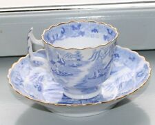 Tasse antike englische Tasse japanisches Motiv Brücke Bäume Porzellan England