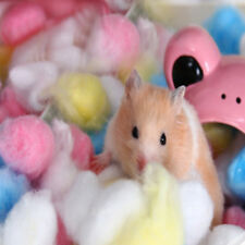 1Bag Colorful Keep Warm Cotton Ball Cute Cage House Filler for Hamster Rat Pets