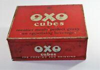 Collectable c1955 Vintage Oxo Cubes Tin 24 x 6's Original Box