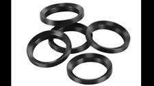 5 pcs Black Steel Muzzle Brake Crush Washer for 1/2 -28