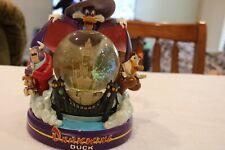 Darkwing Duck Musical Snow Globe Lights Up Disney rare WORKS