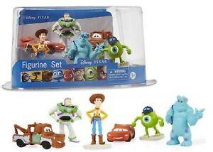 Disney Figurine 6 Pack 3+ Toy Story Monster University Cars Lightning Mcqueen