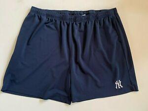 Majestic New York Yankees MLB Baseball Mesh Athletic Shorts Men's 4XL