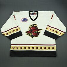 2011-12 Marc Cheverie Gwinnett Gladiators Game Used Worn ECHL Hockey Jersey