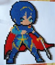 Marth (Fire emblem) - Bead sprite perler pixel art - Perles à repasser