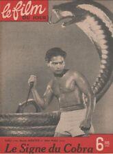 Film du Jour N° 34/1946 - Le Signe du Cobra/Cobra Woman, Sabu Maria Montez