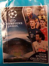 UEFA CHAMPIONS LEAGUE 2016/2017 X5O LOOSE STICKERS