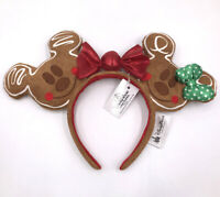 Rare Disney Resort Ears Disney Parks 2019 Christmas Holiday Gingerbread Headband