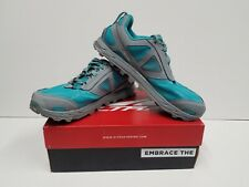 ALTRA LONE PEAK 4 Women's TRAIL Running Shoes Size 9.5 NEW (Teal/Gray)