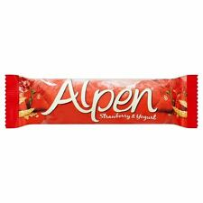 Alpen Strawberry & Yogurt Cereal Bar- 29g - Pack of 12 (29g x 12 Bars)