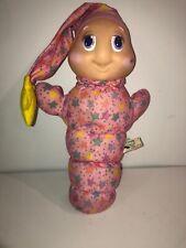 Playskool Gloworm 866 Pink Glow Worm Vintage 1988 Girls Toy
