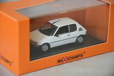 Minichamps MAXICHAMPS 943112373 - PEUGEOT 205 – 1990 WHITE 1/43