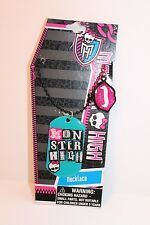 Girl's Monster High Dog Tag Necklace Girl Jewelry NEW