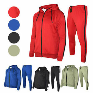 Mens-Polyester-Tracksuit-Gym-King-Style-Slim-Fit-Joggers