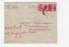 BMA MALAYA: 1946? O.A.S. Airmail cover to London (C36241)