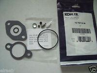 OEM Kohler Carb Kit, gaskets 12 757 01S, 1275701S, 12 757 01-S, CH11-14, CV11-15