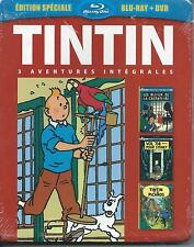 Blu Ray + DVD Tintin 3 aventures Vol 7  NEUF sous cellophane