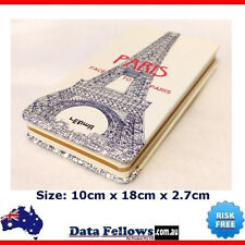 Romantic Paris Journal Travel Diary Girls Notebook vintage cahier Hard Cover NEW