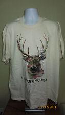 2XL Quality Classics A Hunter's Nightmare Camouflage Deer Short Sleeve T-Shirt