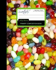PRIMARY COMPOSITION BOOK - JELLY BEANS: KIDS SCHOOL By Smart Bookx **BRAND NEW**
