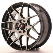 Japan Racing JR18 Alloy Wheel 17x7 - 4x114.3 / 4x100 - ET40 - Black Machined