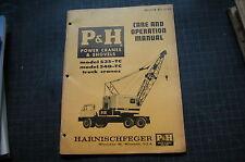 heavy equipment manuals books for p h crane ebay rh ebay com