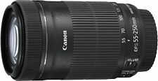 Canon Telephoto Zoom Lens EF-S 55-250mm F/4-5.6 IS STM APS-C EF-S55-250 IS STM