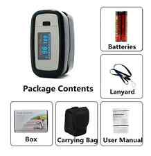 Pulse Oximeter Finger Pulse Blood Oxygen SPO2 Monitor FDA CE OLED CMS50d1 US