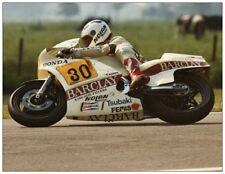 post card Honda NS500 1983 #30 Jack Middelburg Dutch TT Assen
