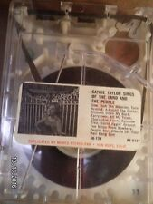 """CATHIE TAYLOR""""SINGS OF THE LAND & THE PEOPLE"""".MUNTZ 4 TRACK TAPE CARTRIDGE."""