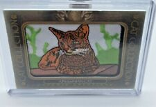 2020 Upper Deck Goodwin Champions Abyssinian Cat Patch