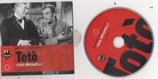 ERRORE DI STAMPA - IL SOLE 24 ORE - DVD - TOTO' I DUE ORFANELLI MA ALTRO FILM