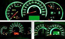 10x T10 8-SMD Green LED Interior, Instrument, License Light W5W 194 168 2825 158
