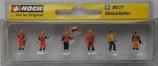 NOCH 36277 Track Workers 'N' Gauge Model Railway Figures