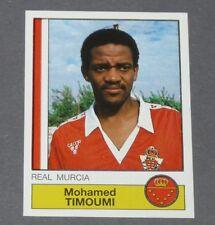 166 TIMOUMI MAROC REAL MURCIA PANINI LIGA FUTBOL 87 ESPAÑA 1986-1987 FOOTBALL