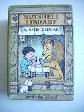 Maurice Sendak--NUTSHELL LIBRARY Fine Books Fine Slipcase UR Signed