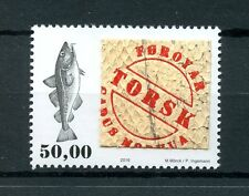 Faroe Islands Faroes 2016 MNH Fish Skin 1v Set Fishes Marine Stamps