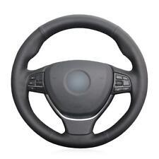 Hand Sew Steering Wheel Cover for BMW F10 2014 520i 528i 13-14 730Li 740Li 750Li