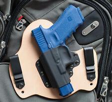 Kydex Hybrid Gun Holster Left hand IWB for Glock 17 19 22 23 31 32 34