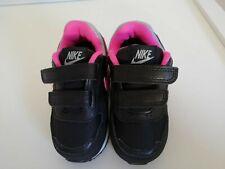 Nike Baby Kinder Team Hustle Schuh Schwarz Grau Größe 19,5 4C Neu mit Karton