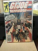 G.I. Joe Yearbook #1 (Mar 1985, Marvel) VF+/NM- WHITE PAGES...HIGH GRADE