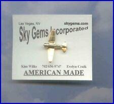 Made in USA T-6 Texan Reno Aircraft Airplane Plane 99's Aviator Pin