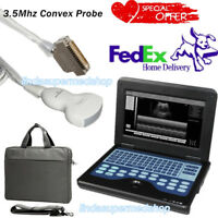 Digital Portable Laptop Ultrasound Scanner Diagnostic System Convex 3.5Mh CONTEC