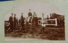 48 PHOTOGRAPHIES 1880 – 1900 D'UN OFFICIER DE L'ÉCOLE DE CAVALERIE DE SAUMUR