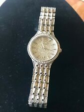 BULOVA Phantom Crystal Pave Lady's Watch Item No. 96L243