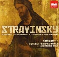 Sir Simon Rattle/Berliner Phil - Stravinsky Symphony Of Psalms / Sympho (NEW CD)