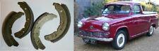 AUSTIN A60 Cambridge PICK-UP Freno Anteriore Scarpe Set (1957 - 73)