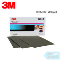 3M 02044 WET OR DRY 2000 GRIT SAND PAPER