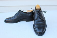 Allen Edmonds MacNeil Black Leather Wingtips Dress Shoes Mens 11 C 9117